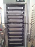 Cabina vertical comercial de la tenencia del acero inoxidable de la puerta doble