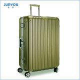 良質旅行荷物セット、ABS+PCの圧延のスーツケース