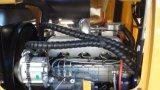 De fabrikant Gearticuleerde Hydraulische Oj16 MiniLader van het Wiel 1.6ton