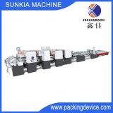 Carpeta automática Gluer/rectángulo del papel acanalado que pega la máquina (DG-2800)