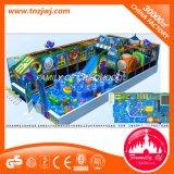 O labirinto ao ar livre do campo de jogos do jardim de infância ajusta o equipamento do jogo