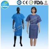 Aislamiento desechables Vestido / vestido del hospital / Vestido de visitante