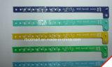卸し売り安く使い捨て可能なPVC Lf/Hf NFC/RFIDブレスレットのリスト・ストラップIDチップ