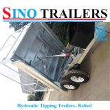 Máquinas Agrícolas Side Tipping Agricultural Hydraulic Trailer for Sale