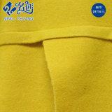 黄色い中間袖のV襟足のセクシーな女性のブラウス
