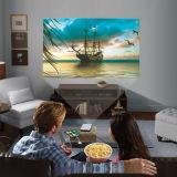 HD 1080P 높은 광도, 새로운 LED 알루미늄 소형 소형 영사기