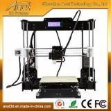 ABS/PLA 필라멘트 Ce/FCC Vertification를 가진 보석을%s Anet 3D 인쇄 기계 아크릴