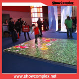 P10 fasten helle LED Dance Floor Bildschirmanzeige der Installations-ultra