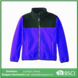 소년의 유행 Colorblock 마이크로 극지 양털 재킷