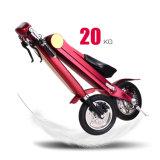 A bicicleta elétrica Foldable da maçaroqueira a mais nova do vento parte a motocicleta elétrica