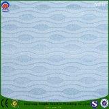 Tissu imperméable à l'eau de rideau en polyester d'arrêt total de franc tissé par textile à la maison