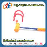 Il Croquet di plastica divertente gioca il gioco del gioco per il capretto
