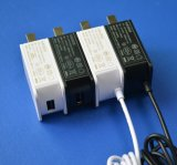 5V1a 6V1a Adapter van de 12V500mA de Aan de muur bevestigde Macht met UL, GS, Ce, Erkend FCC