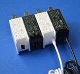 5V1a 6V1a 12V500mA an der Wand befestigter Energien-Adapter mit UL, GS, Cer, FCC anerkannt