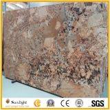 平板またはタイルまたはCountertops&Vanityの上のためのPersaのブラジルの金花こう岩
