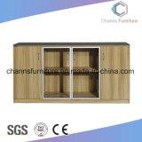 Шкаф архива офиса хорошего качества мебели металла самомоднейшей конструкции деревянный