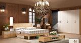 [شبر] مريحة غرفة نوم أثاث لازم سرير خشبيّ ([أول-لف016])