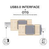 Laufwerk USB-Laufwerk USB-Speicher des Blitz-USB3.0 für iPhone 32GB Feder-Fahren Speicher-Speicher