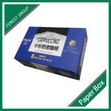 Contenitore di imballaggio bianco di carta impaccante su ordinazione pieghevole della scatola