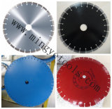 300 mm de largura U Diamond Walk Behind Saw Blade for Asphalt, Concrete