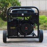 Gekoelde Lucht van de Generator van de Benzine van de Generator van de Benzine van de Draad van het Koper van de Enige Fase van het Begin van de bizon (China) de Elektrische 5kVA 13HP