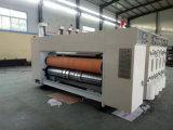 Gewölbtes Papier-Drucken-kerbende und stempelschneidene Maschine