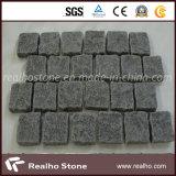 Ineinander greifen-Blatt-Kopfstein-Stein des Granit-G654 und G684 für die Pflasterung