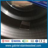 chapa de aço inoxidável do revestimento da linha fina de 304 201 1.2mm