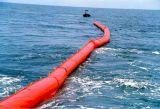 Crescimento da retenção do petróleo do flutuador do PVC, boom do petróleo, crescimento da borracha da alga