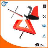 Fahrbahn-Sicherheits-reflektierendes warnendes Dreieck für Auto