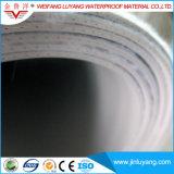 Waterdichte Membraan van pvc van de Prijs van de Levering van China het Goedkope met Versterkte Polyester