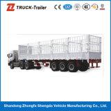 Sale를 위한 3개의 차축 높 힘 Steel Stake Fence Semi Trailer Truck