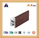 Résistance chaude et profils UV-Resistence de PVC de bâti fixe Windows