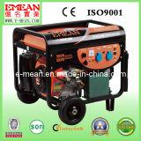 5 kVA / 5 kW silencioso Generador de gasolina / generador y motor
