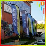 Vlaggen de van uitstekende kwaliteit van de Veer van het Ontwerp van de Douane, de Telescopische Vlag van het Strand
