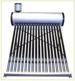 非圧力補助タンクが付いている真空管の太陽給湯装置