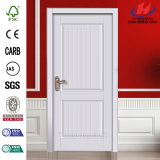 Jhk- 017 MDF HDFのドアは商業浴室のドアのベニヤによって薄板にされた木製のドアを使用した