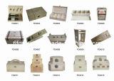 Коробка индикации MDF цветастых прочных отсеков деревянная
