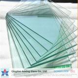 vidrio de flotador claro de 1mm-19m m con la certificación del Ce (para el propósito de edificio)