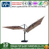 Double parapluie en aluminium pour meubles extérieurs (TGTA-001)
