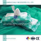 Wipes asciutti con 10sheets/Bag, uso secco ed umido del bambino