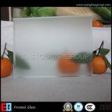 霜ガラス、酸はエッチングしたガラス、曖昧なガラス(EGFG003)を