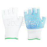 Nylon перчатка с ладонью поставленной точки PVC (S5105)
