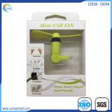 Ventilador del USB del teléfono elegante de los sistemas del IOS mini