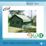 PVC blanco Temporary Relief Tent para Exhibition Storage Tent