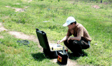 Matériel séismique de réfraction d'enquête de sismographe d'onde d'exploration peu profonde de vitesse