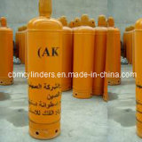 Cilindros de acetileno de preço de fábrica 40L