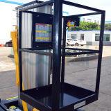 Einzelner Mast-Aufzug-Tisch, vertikaler Aufzug für 8 M