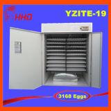Hhd 3168の卵の自動鶏の卵の定温器のセリウムは承認した
