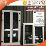 Tipo stoffa per tendine placcata di alluminio Windows dell'Italia di legno solido